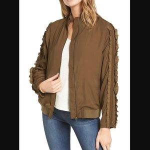 Treasure & Bond Bomber Jacket (easily fits a s/m)